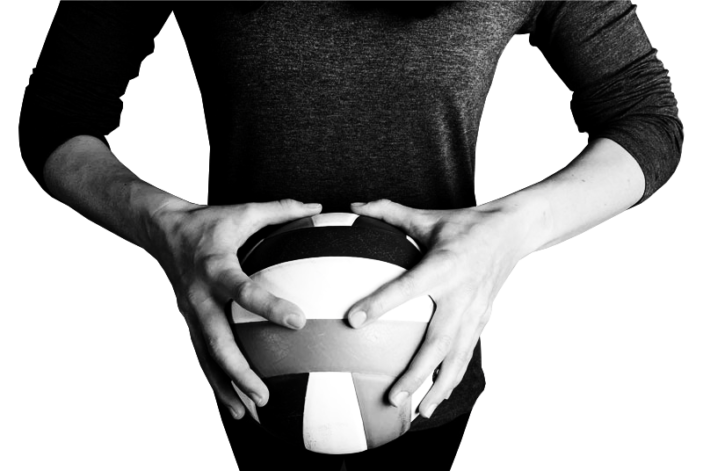 volleyball-hands-ball-BW